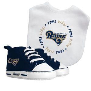NFL Los Angeles Rams Baby Bib & Pre Walker Set